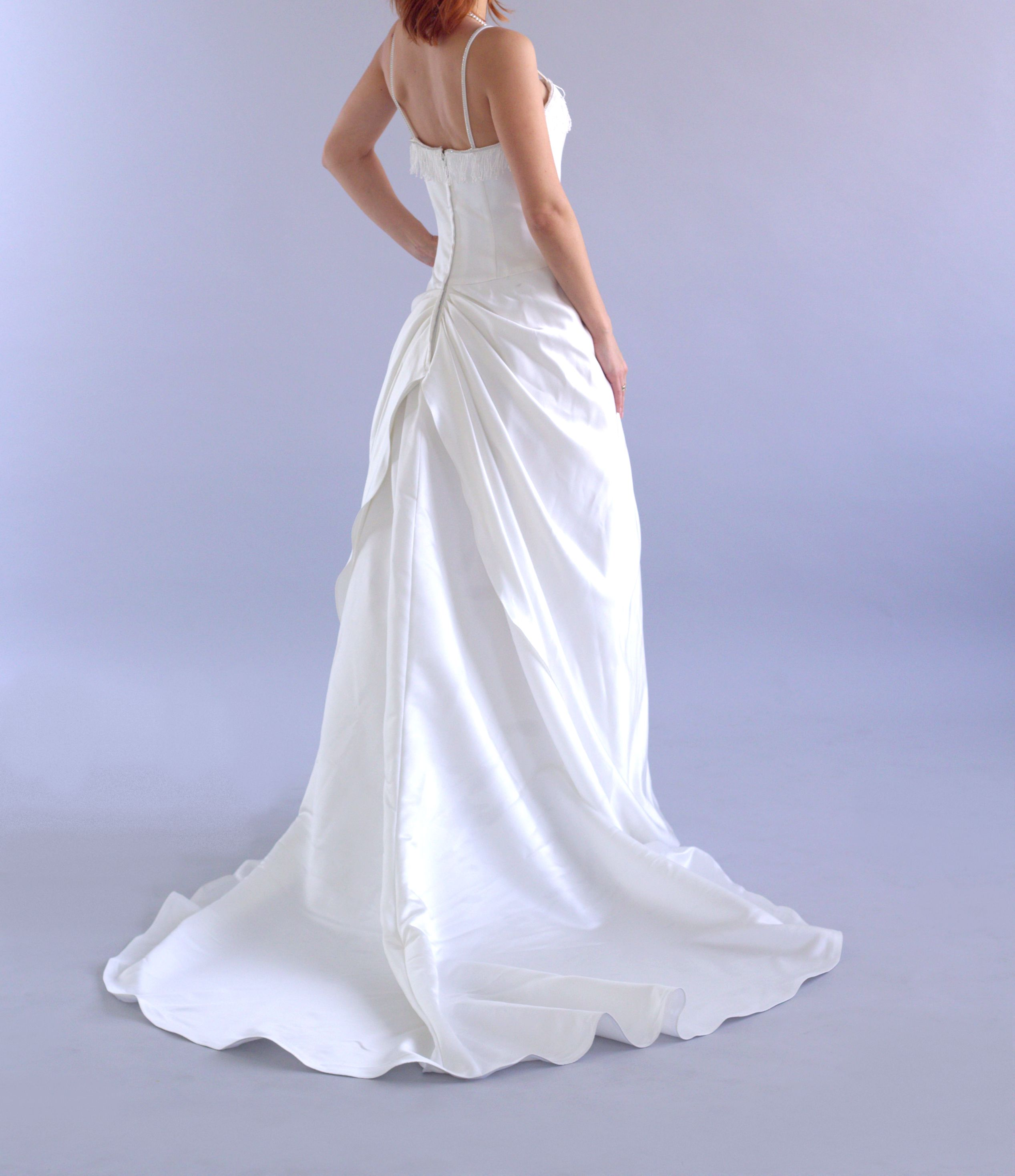 How Much Does It Cost To Ship A Wedding Dress | Classic Flower Ivory Wedding Dress By Pronuptia French Design