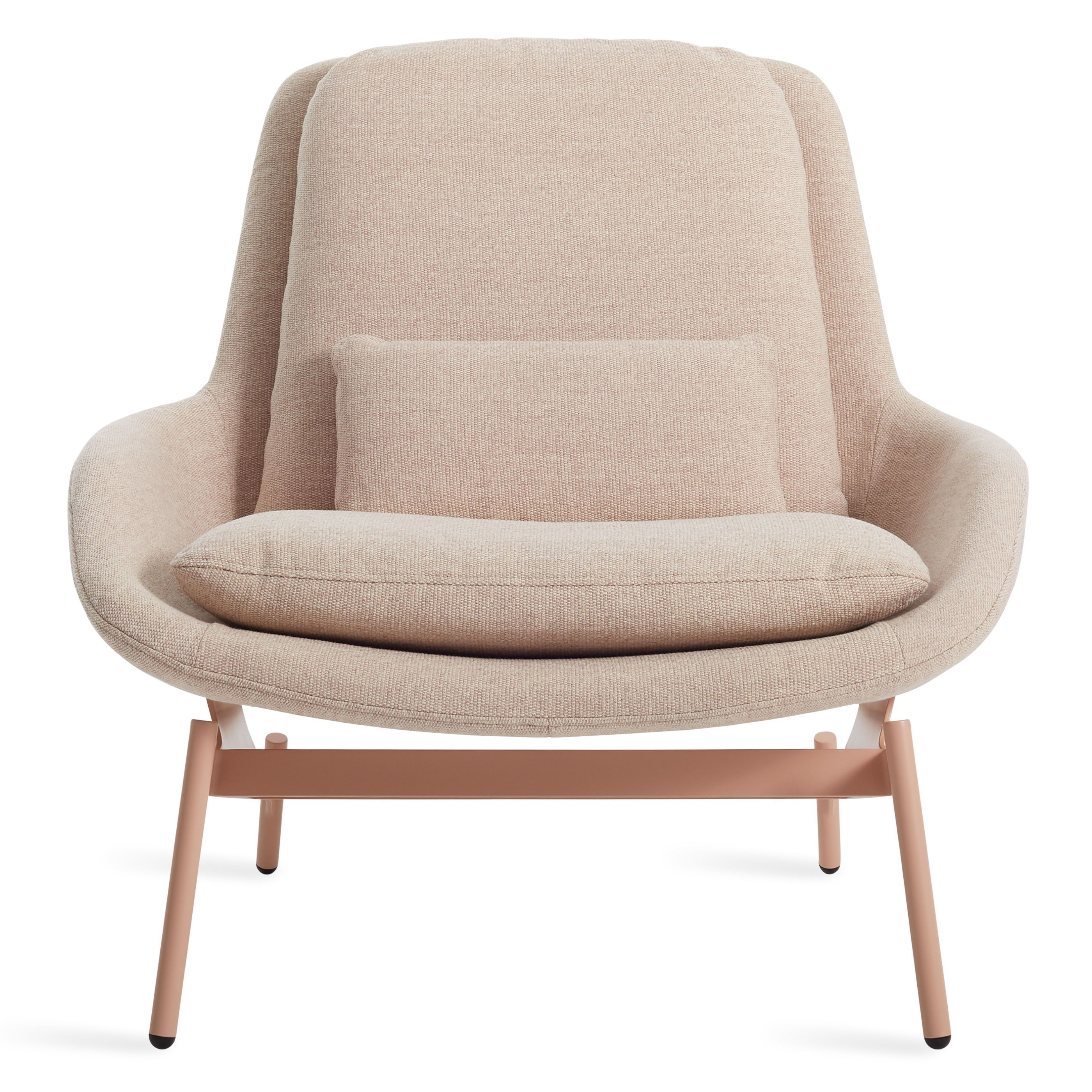 Field Lounge Chair Tait Blush Home Chair Design Modern