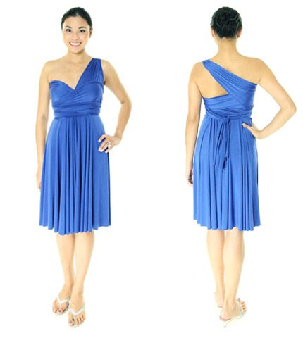 One Shoulder Sweetheart Style With One Strap Across Back