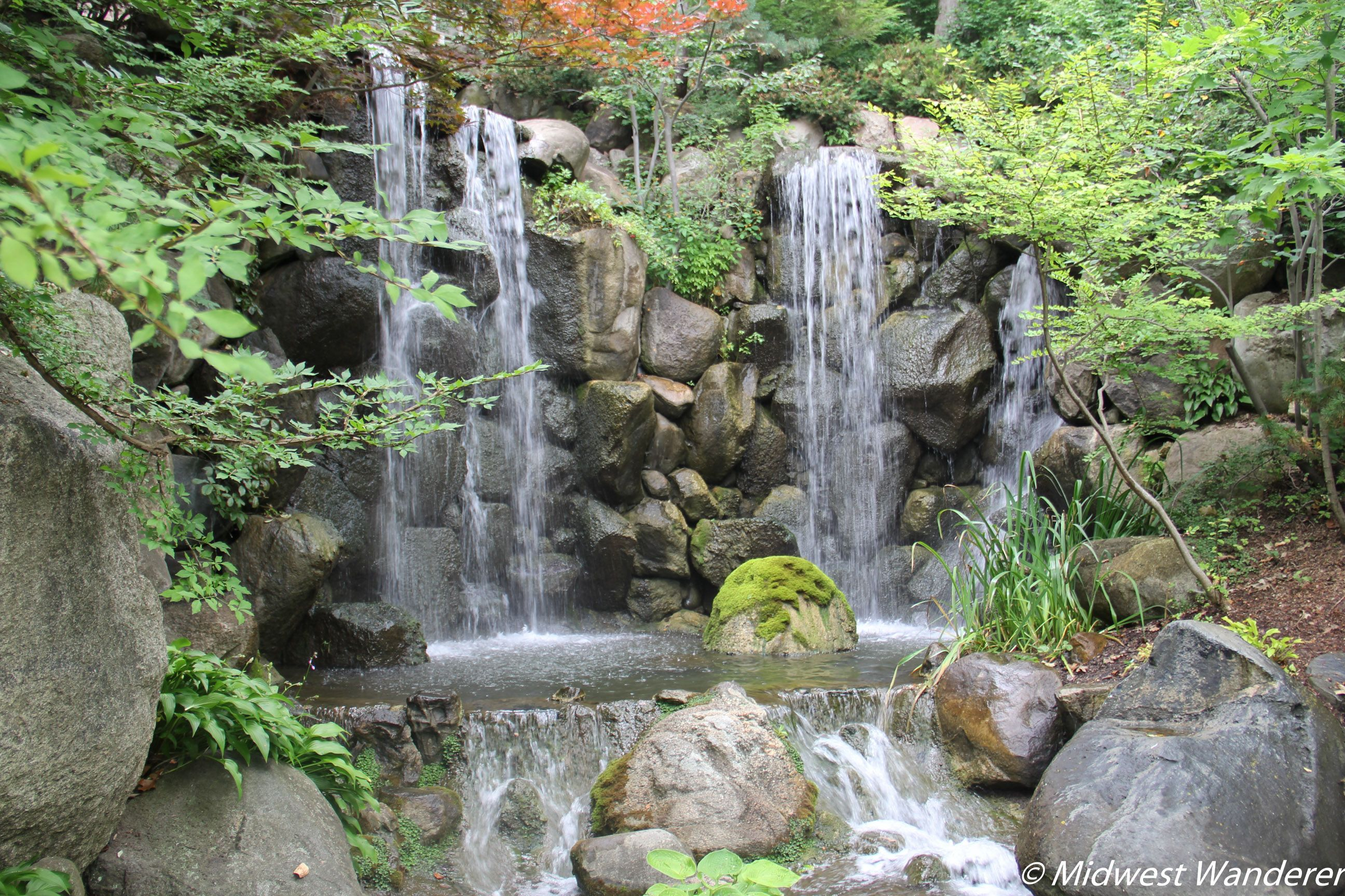 Twelve Acres Of Carefully Placed Plants, Stones, Ponds, And Waterfalls