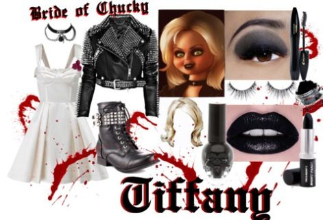 Diy Bride Of Chucky Tiffany Costume Costumes Pinterest Diy