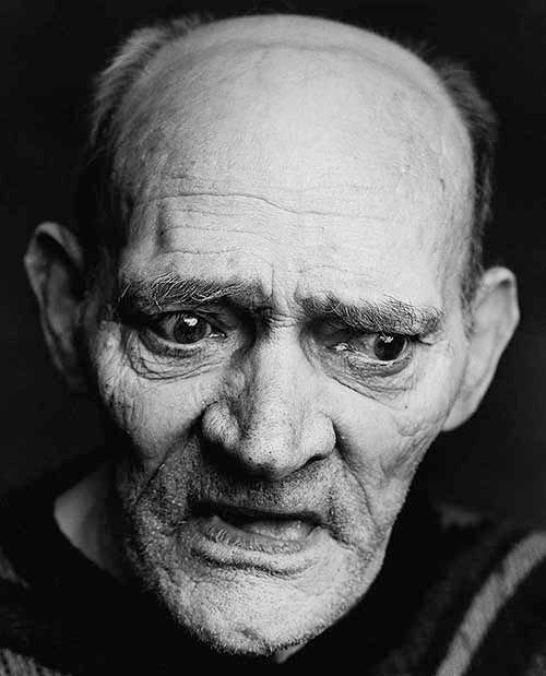 Alez Ten Napel, PORTRAITS OF PEOPLE SUFFERING FROM ALZHEIMER'S DISEASE***