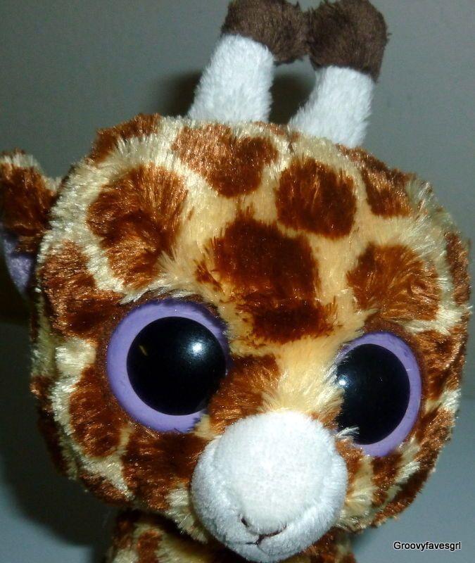 e8c497c6792 Ty Beanie Boo Safari Giraffe Plush 6