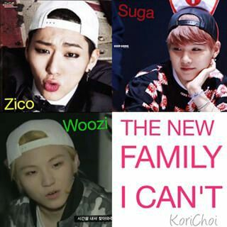 Too Much Swaeg goin on here | Swaeg family with a dash of cuteness and Hello Kitty (ofcourse Zico).
