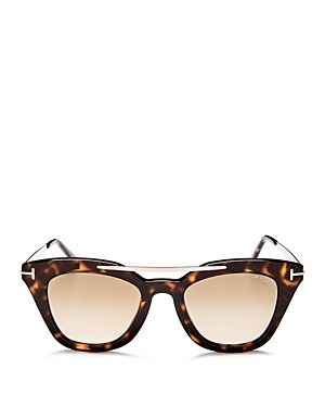 9690bd4397 TOM FORD ANNA MIRRORED SQUARE SUNGLASSES
