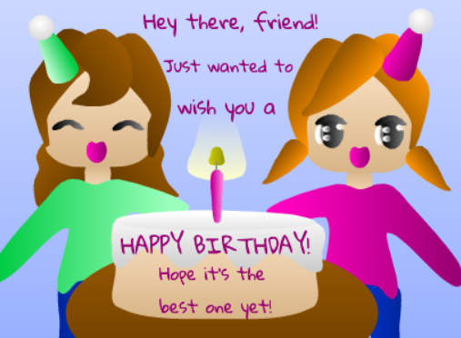 Wish A Friend Happy Birthday Free For Your Friends ECards