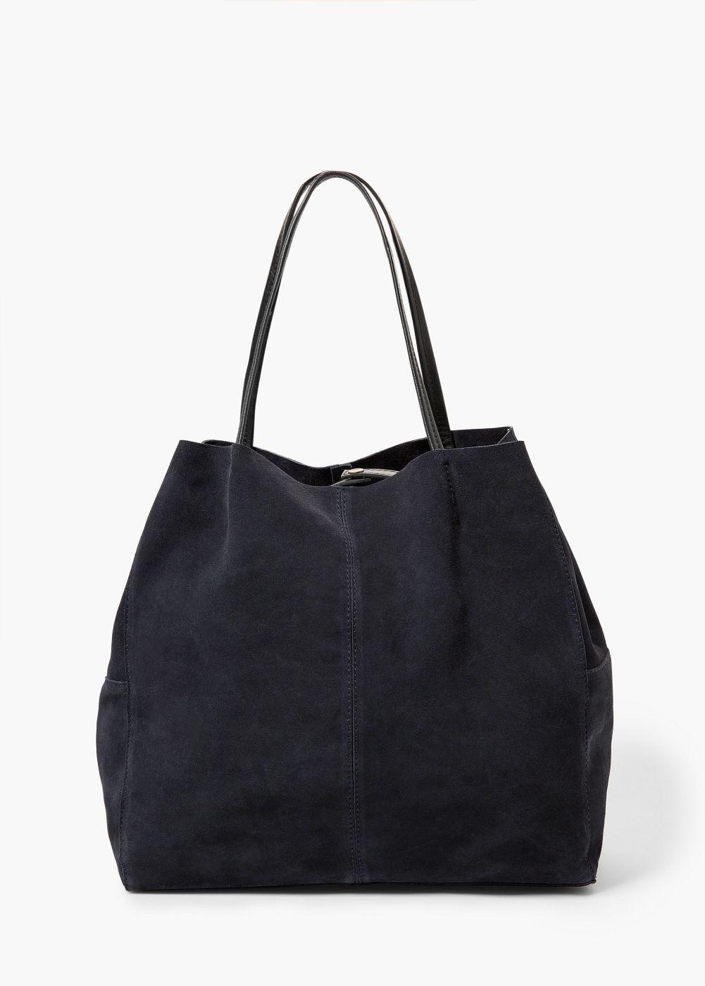 Suede Per Bag Mango