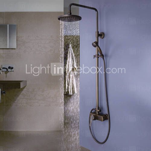 Antique Shower System Rain Shower Handshower Included Ceramic Valve