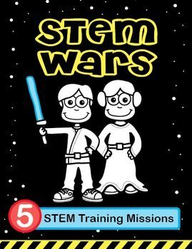 STEM Wars: Five Training Missions #stemactivitieselementary