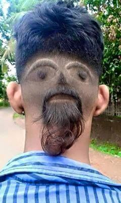 20 Most Ridiculous Hairstyle Fails Bemethat Haircut Funny Hair Humor Wacky Hair