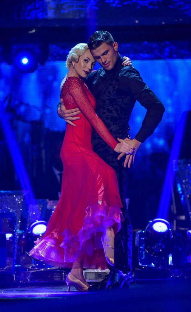 Strictly Come Dancings Jeremy Vine: Helen George danced