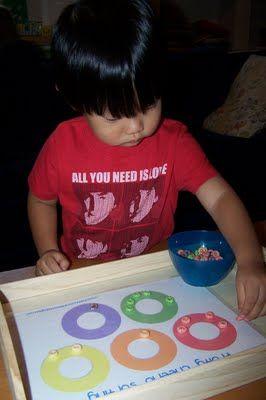 lots of preschool activities.