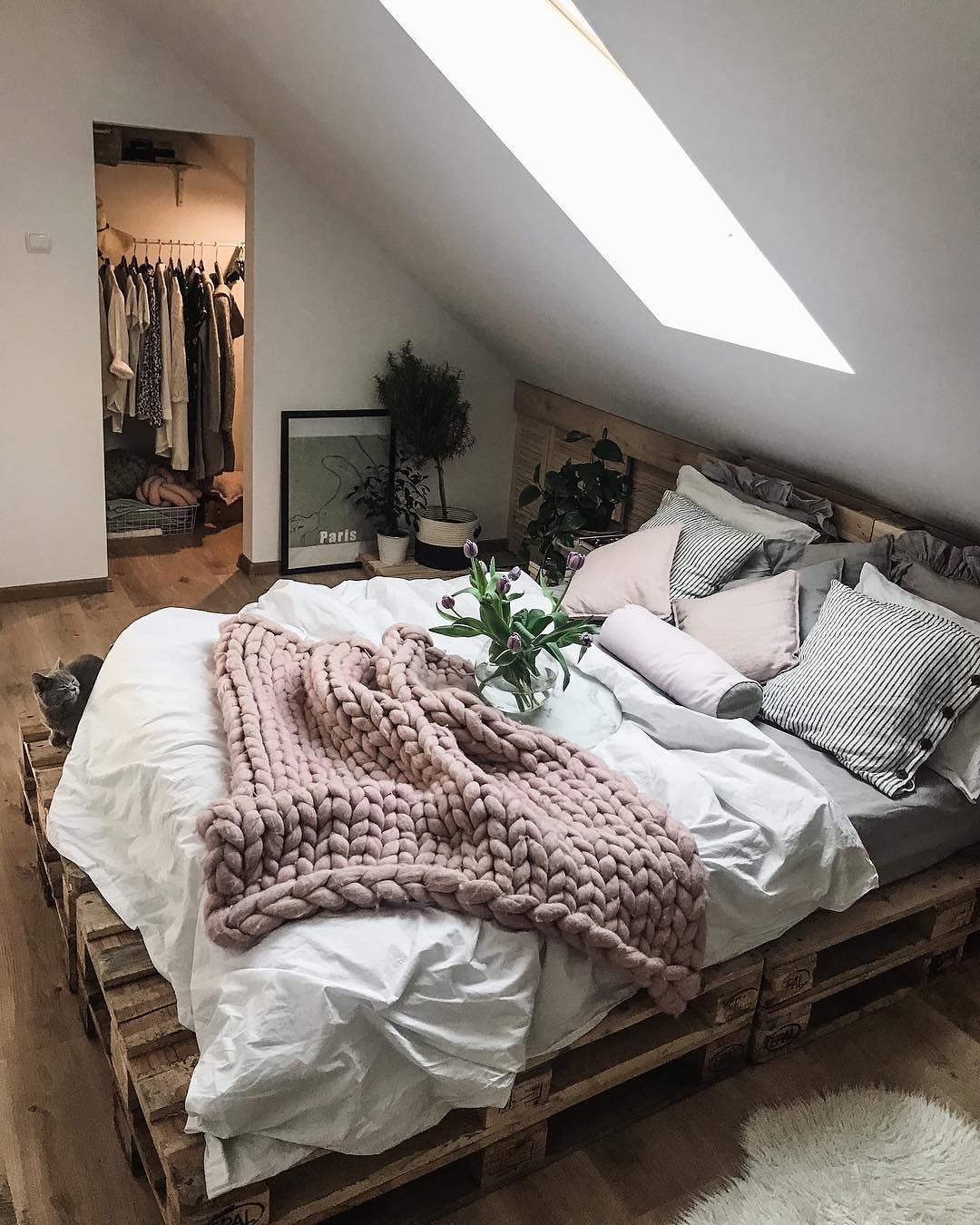 Tumblr Beds Wooden Pallet Beds Ideas New Room Ideas Pinterest