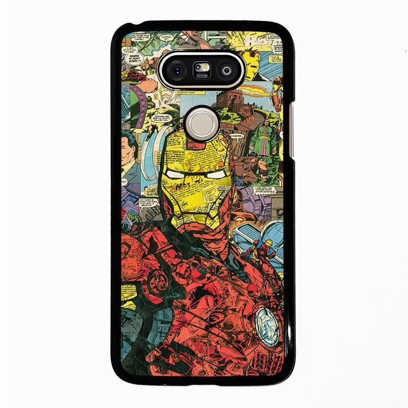 IRON MAN COMIC COLLAGE LG G5 Case Cover