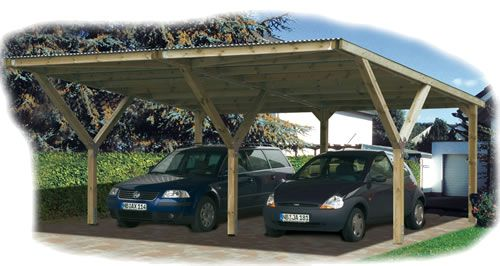 Carport Crawley Weka Stand Alone Twin Outdoor Structures Pergola Outdoor