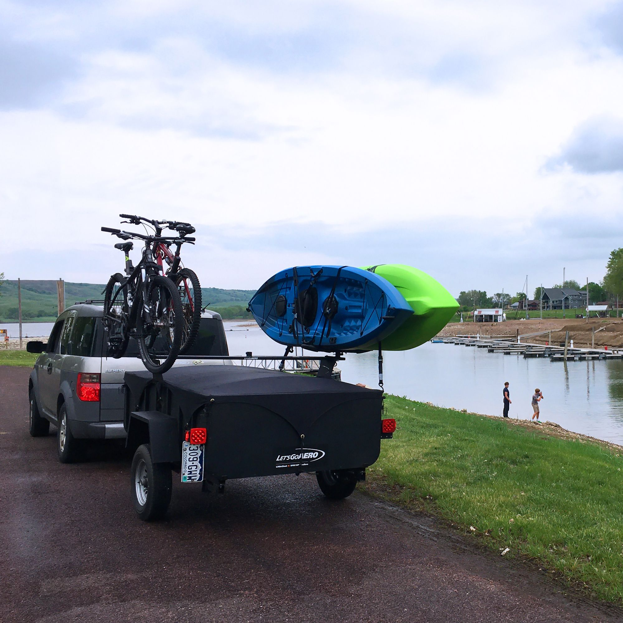 Photo of Lightweight Adventure Camping Sport Trailer for Small Vehicles
