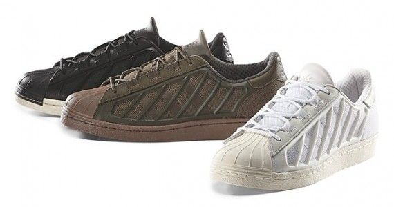 The shell toe goes commando for the rugged adidas Superstar Jungle. These  men's shoes take inspiration from the iconic adidas Superstar, in a flexi…