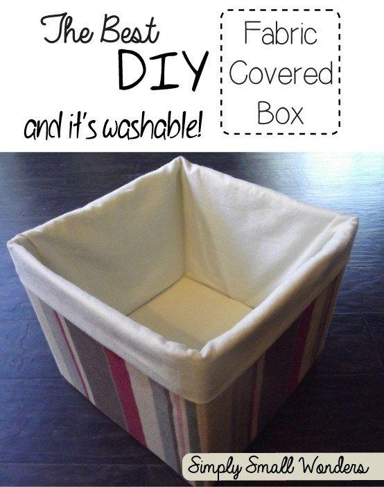 kartons mit stoff umh llen um sch ne kisten draus zu machen mit doppeltem boden und waschbar. Black Bedroom Furniture Sets. Home Design Ideas