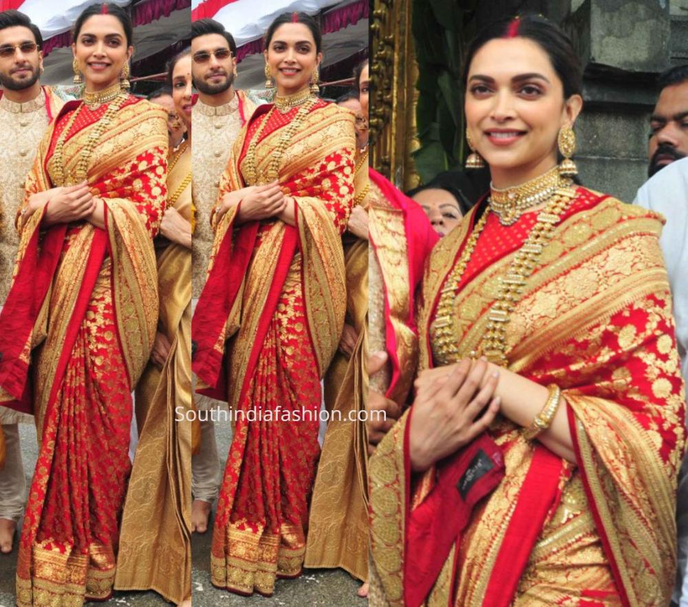 Deepika and Ranveer visit Tirupati on their 1st Marriage