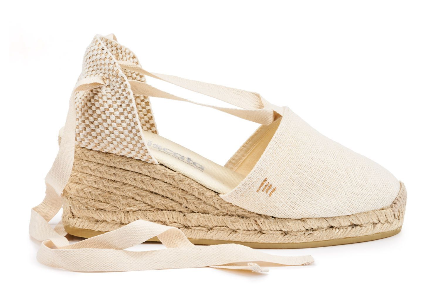 9c79823f41a Escala Linen Wedges - Ivory | Products | Wedges, Espadrilles ...