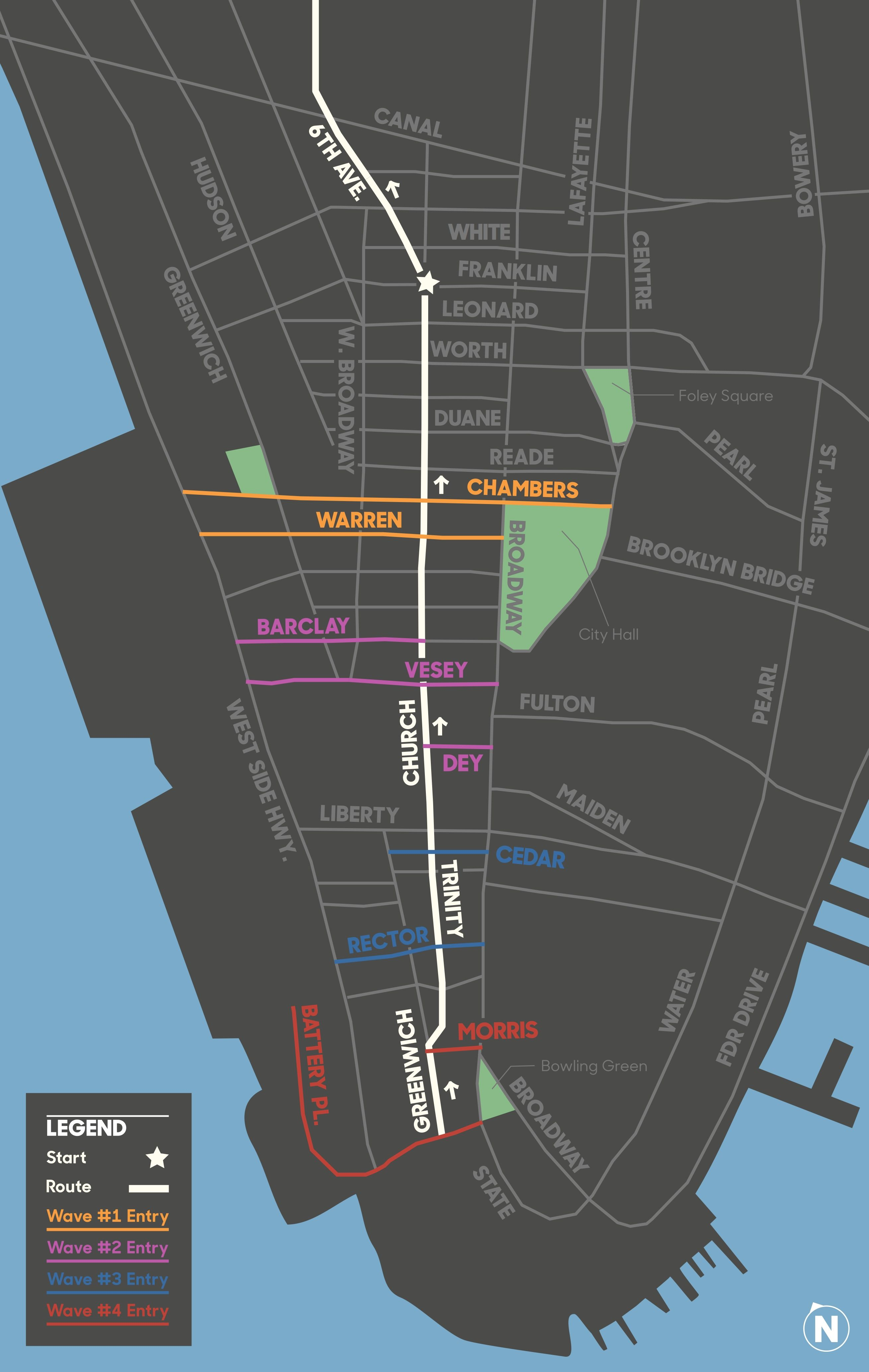 The TD Five Boro Bike Tour is the country's biggest bike ride ... City Bike New York Map on