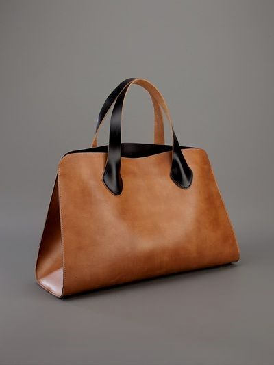 Leathergoods Purse Handmade in Argentina Beba Suela Light brown leather Tote Bag