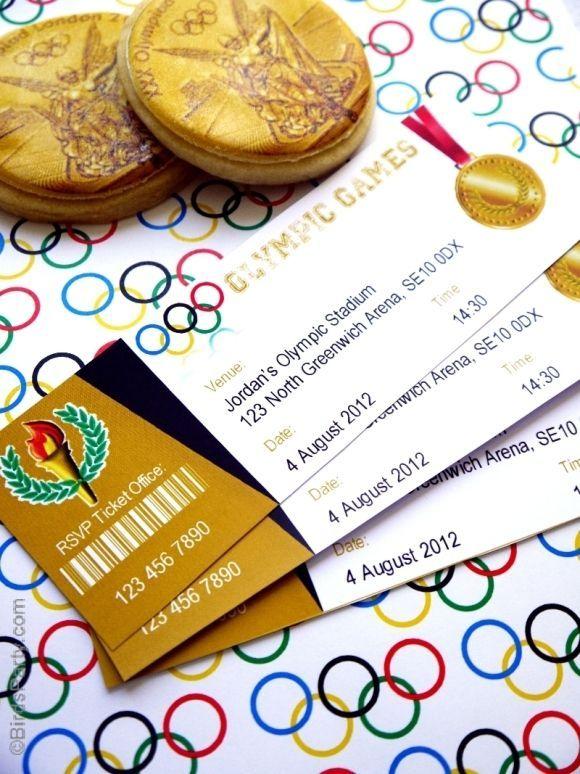 Five Olympic Party Ideas For You To Make | Pinterest | Einladung Zum  Kindergeburtstag, Kindergeburtstag Motto Und Olympia