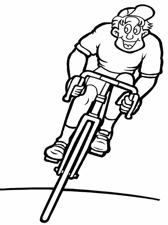 Dibujos para Colorear Deportes 56 | Dibujos para colorear para niños ...