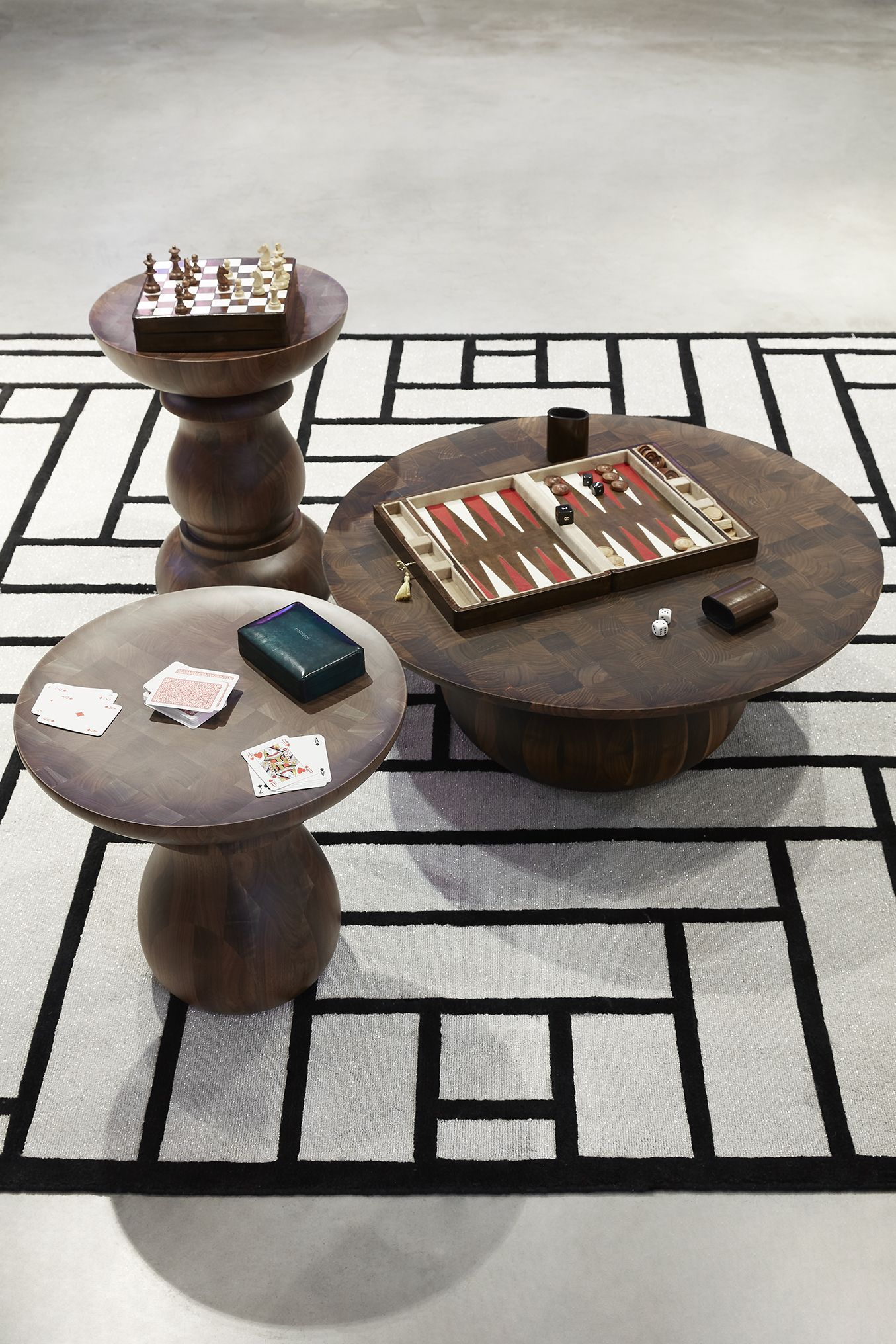 Roche Bobois Chess End Table Designed By Marcel Wanders Marcel Wanders Top Interior Designers Interior Designers