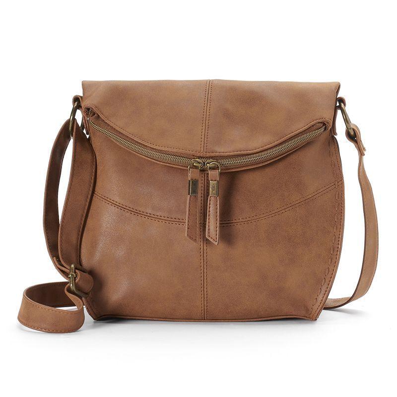 "dbc02bb800c9 SONOMA Goods for Lifeâ""¢ Shelia Flap Crossbody Bag"