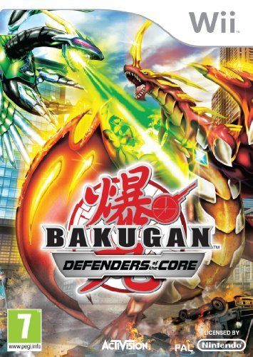 Bakugan Defenders Of The Core Wii Game With Images Bakugan