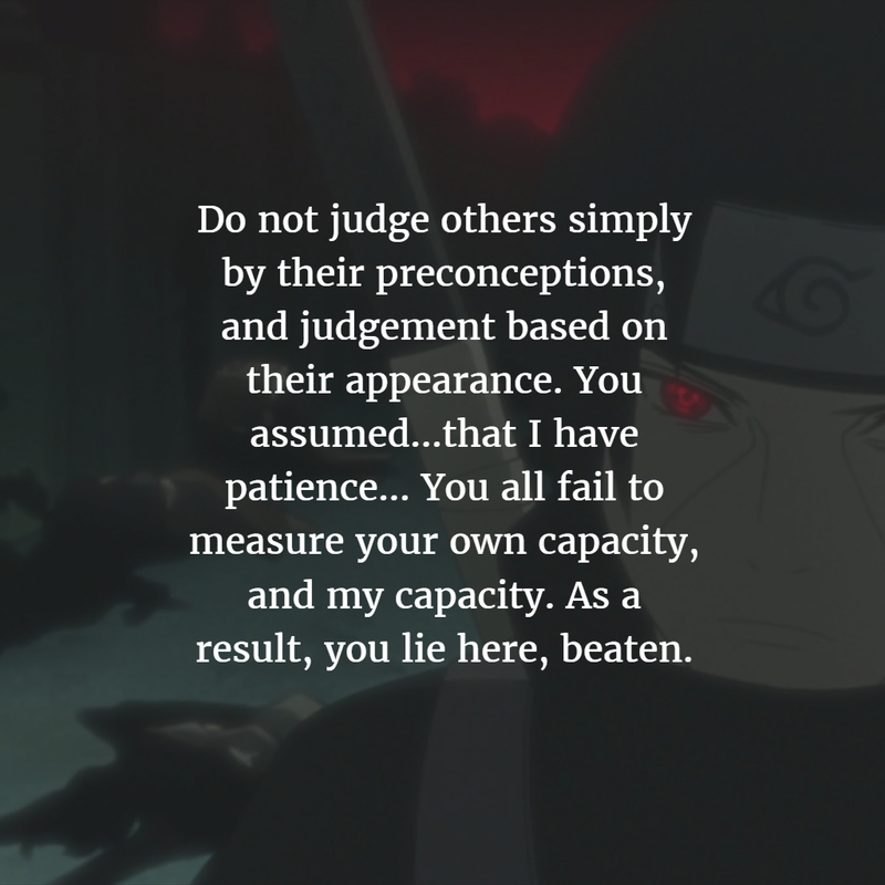 25 Best Quotes from Itachi Uchiha in Naruto Shippuden ...