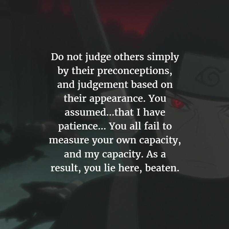 25 Best Itachi Uchiha Quotes From Naruto Shippuden