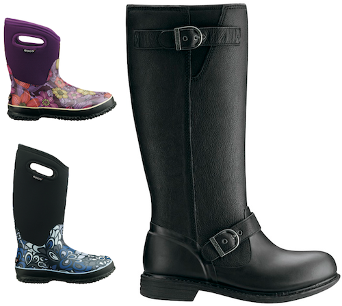 back to school fashion: Bogs rule