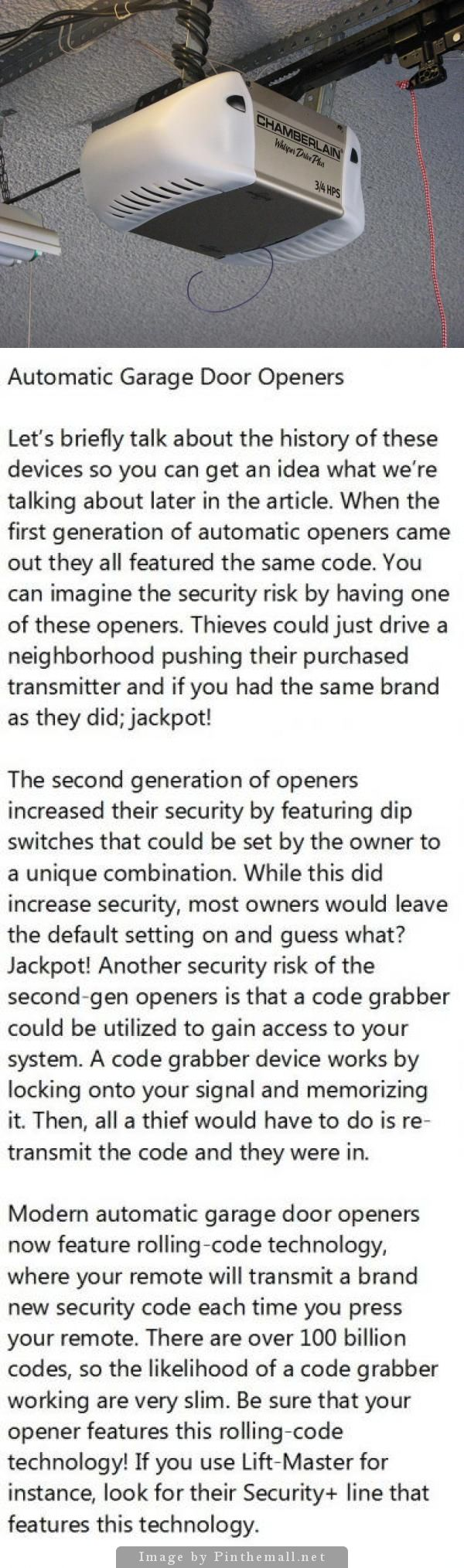Top 10 Garage Door Security Tips To Prevent Break Ins Garage Doors Garage Door Opener Security Door