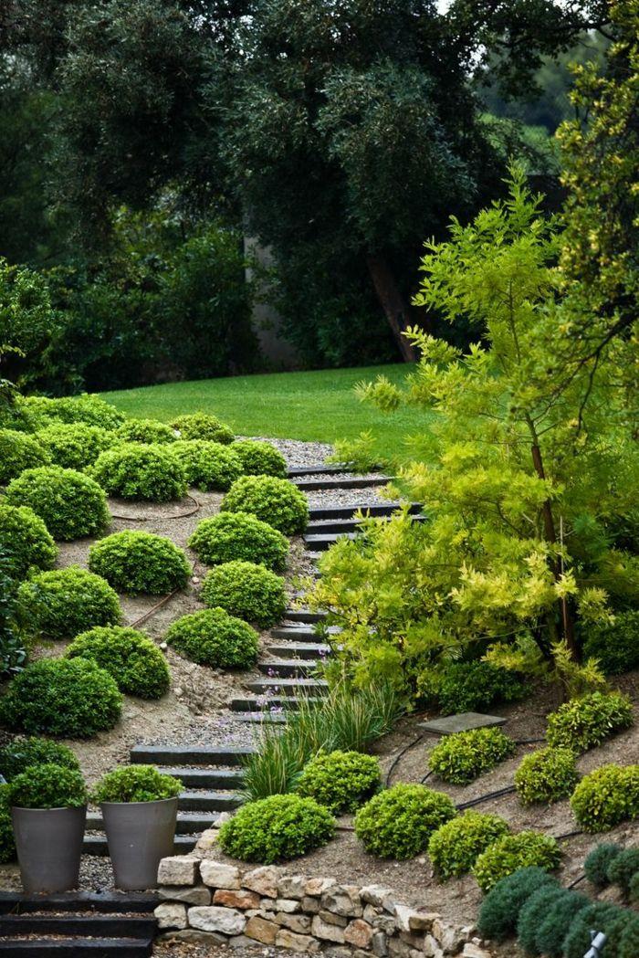 80 Gartengestaltung Vorschläge   Einfach, Aber Erfolgreich Den Garten  Gestalten | Pinterest | Darkness Falls And Gardens