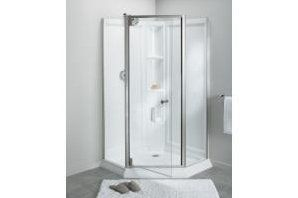 Sterling By Kohler Solitaire 42 X 78 25 Neo Angle Pivot Shower