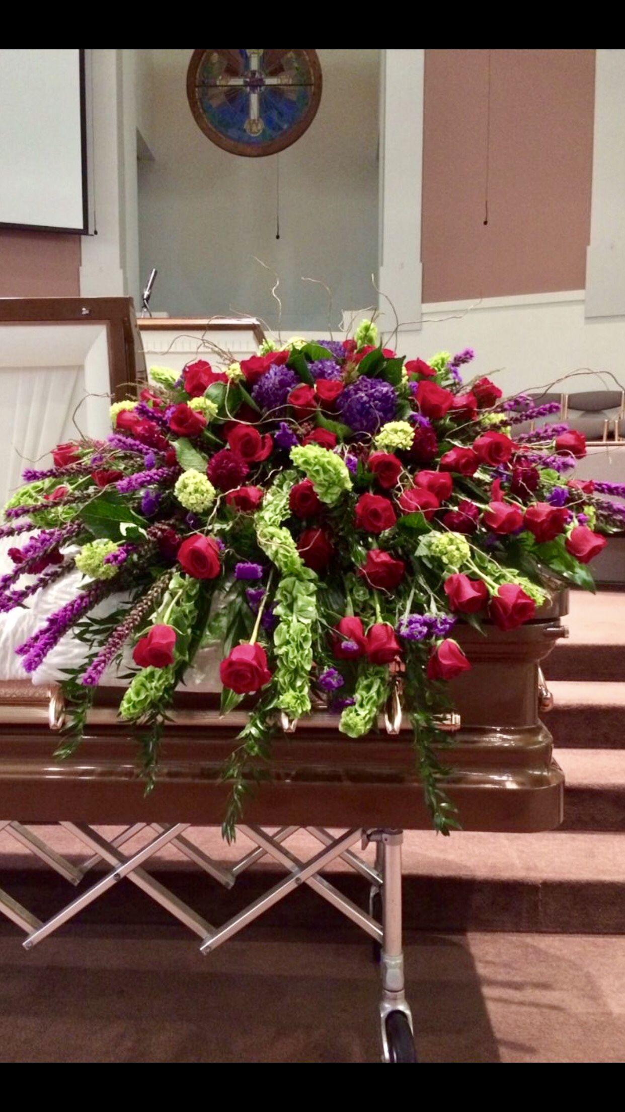 Pin By Heath Florist On Funeral Flowers Casket Spray Casket Flowers Memorial Flowers Funeral Flower Arrangements