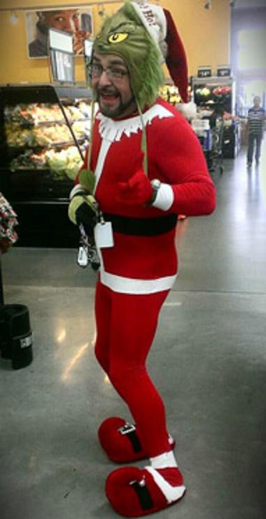 Santa Had Millions of Fans,  #FANS #funnyphotowalmart #Millions #Santa