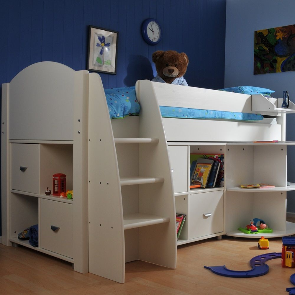 Kids Mid Sleeper Bed is a Perfect Space Saving Solution