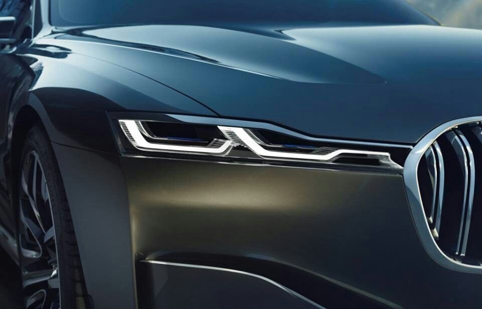 BMW 9 Series concept I see you...