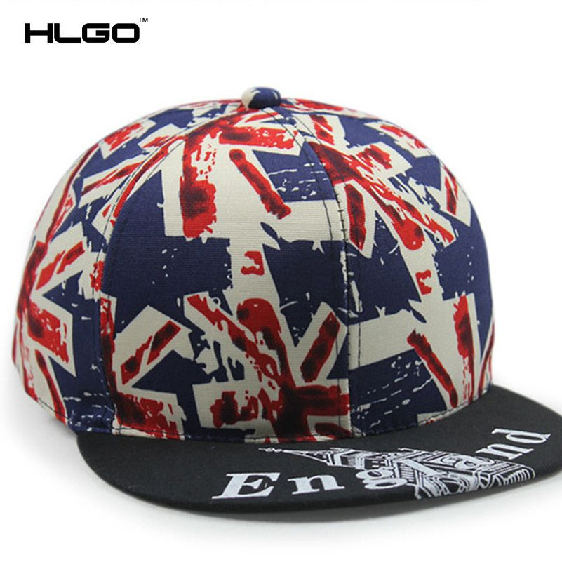 e359fafd Click to Buy << Fashion Girls Boys Unisex Flag Printing Baseball Snapback  Caps Hip Hop Gorras Casual Hat Black Blue for Women Man #Affiliate