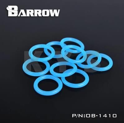 Barrow Water Cooling Fluorescent Sealed Ring O Ring G1 4 Thread Ob