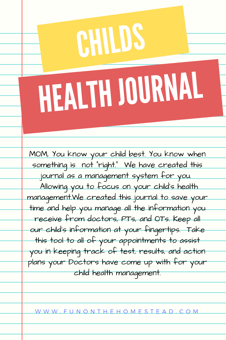 Manage Your Child's Health Record | Kids health, Health ...