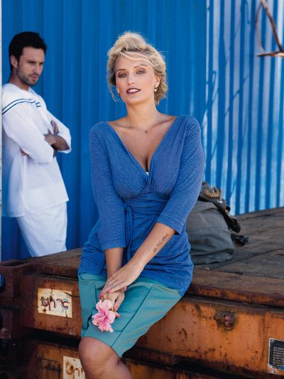 burda style 07/2012: Plusmode: Maritim-exotische Looks - News ...