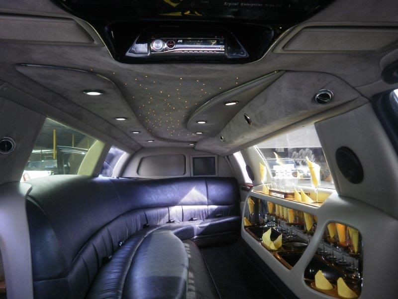 2007 120 Inch Lincoln Town Car Limo For Sale By Krystal Limousine