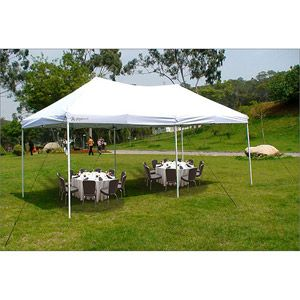 Giga Tent Party 10 X 20 Canopy White