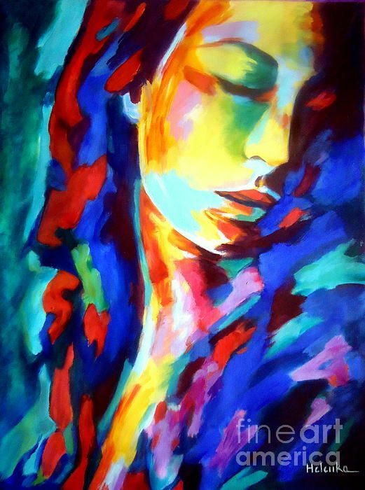 Glow In Shadows By Helena Wierzbicki Shadow Art Painting