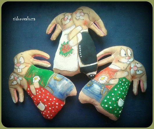 Ароматизированные куклы ручной работы. Ярмарка Мастеров - ручная работа.  Купить Парочка влюблённых зайцев. Handmade. Влюбленные, пара зайцев 9b8b4d9b46f