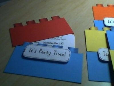 Lego Birthday Invitation Birthday ideas Pinterest Lego - birthday invitation homemade